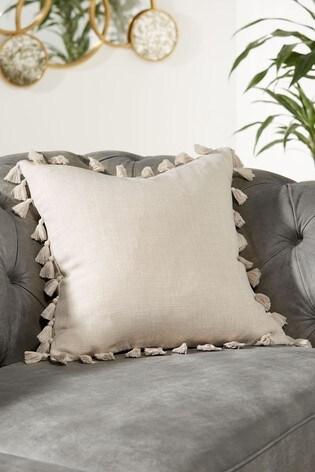 Tassel Edge Cushion