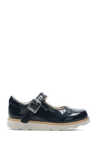 Clarks Blue Crown Jump T Shoe