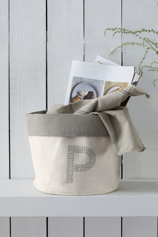 Alphabet Storage Bag