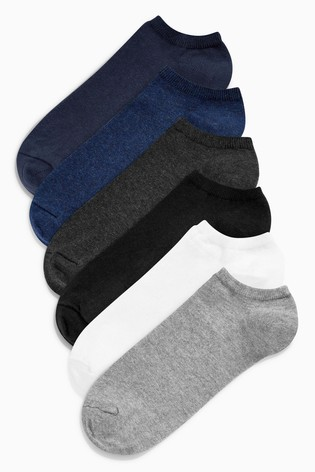 Multi Trainer Socks Six Pack