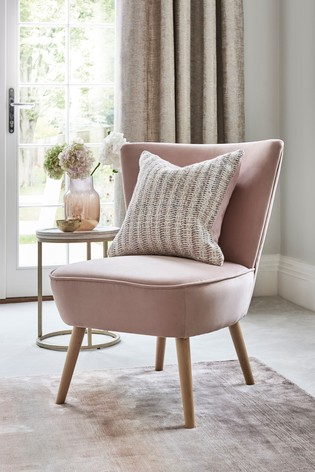 Ella Accent Chair With Light Legs