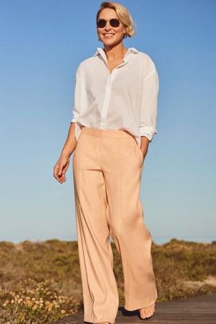 Peach Emma Willis Wide Leg Trousers