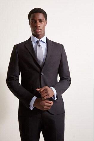 DKNY Slim Fit Black Jacket