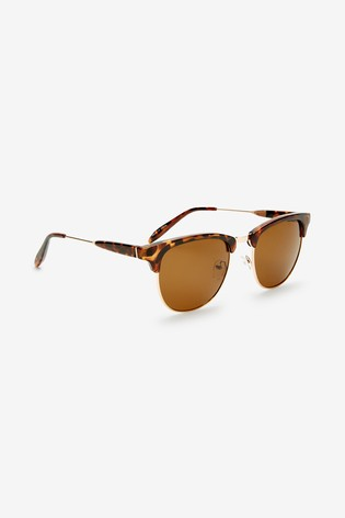 Tortoiseshell Effect Sunglasses