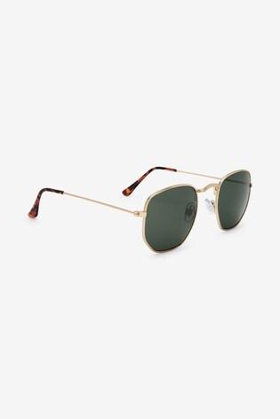 Gold Tone Sunglasses