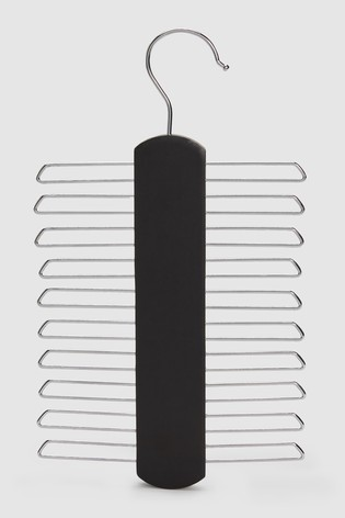 Black Ashby & Brant Ties Hanger