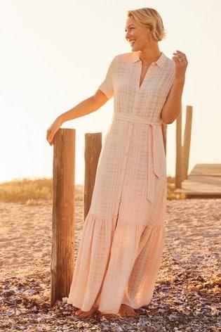 Pink Emma Willis Shirt Dress