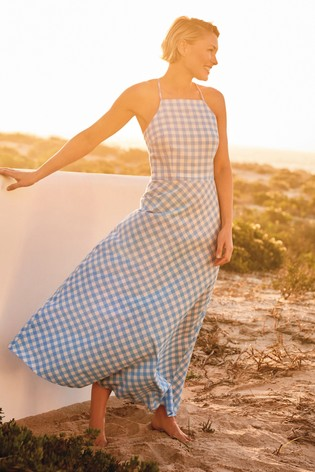 Gingham Emma Willis Strappy Dress
