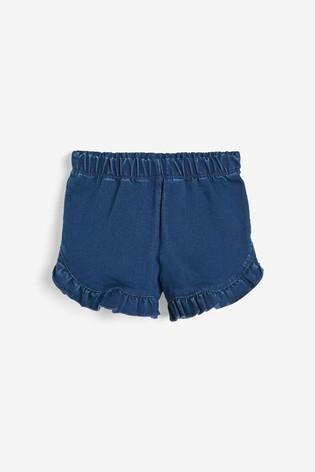 Indigo Denim Shorts (3mths-7yrs)