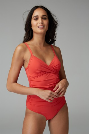 Red Shape Enhancing Swimsuit