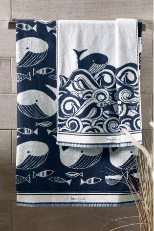 Wilson the Whale Towel