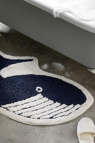 Wilson the Whale Bath Mat