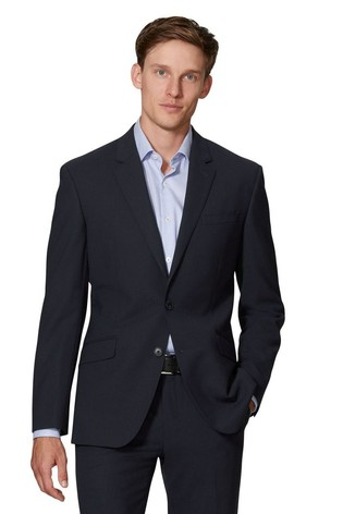 T.M. Lewin Kennington Navy Slim Fit Infinity Jacket