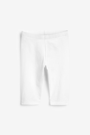 White 1 Pack Cropped Leggings (3-16yrs)