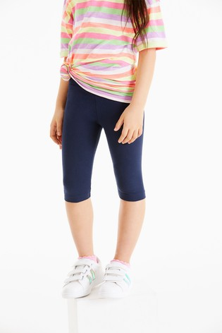 Navy 1 Pack Cropped Leggings (3-16yrs)