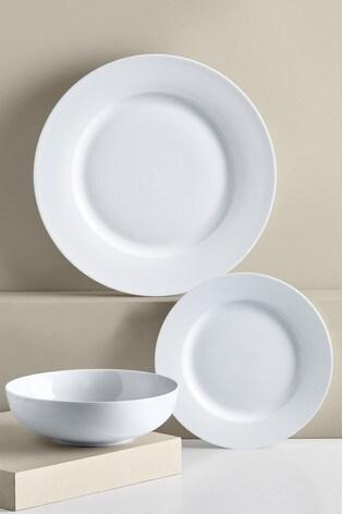 Nova Rim 12 Piece Dinner Set