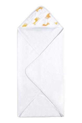aden + anais Essentials White Hooded Towel