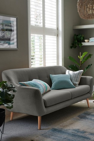 Lacey Small Sofa With Light Legs