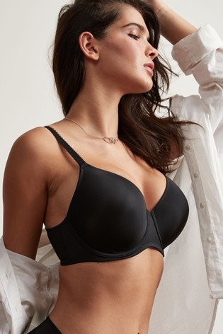 Black Holly DD+ Lightly Padded Full Cup Bras Two Pack