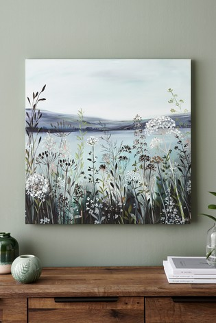 Artist Collection 'Wild Hedgerows' by Janet Bell Canvas