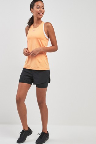 Nike Run Black Eclipse 2-In-1 Short