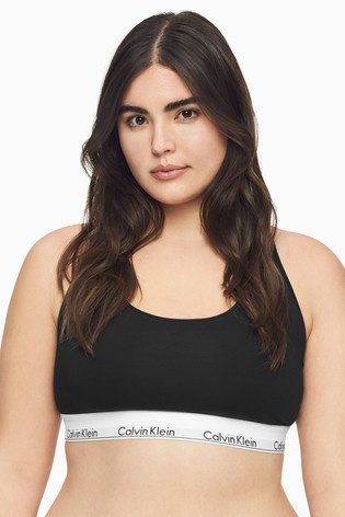 Calvin Klein Black Modern Cotton Plus Bralette