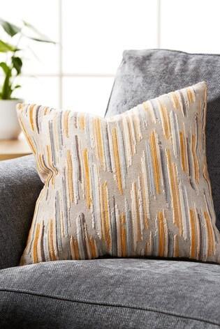 Velvet Chevron Cushion