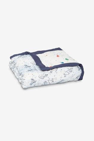 aden + anais White Silky Soft Dream Blanket