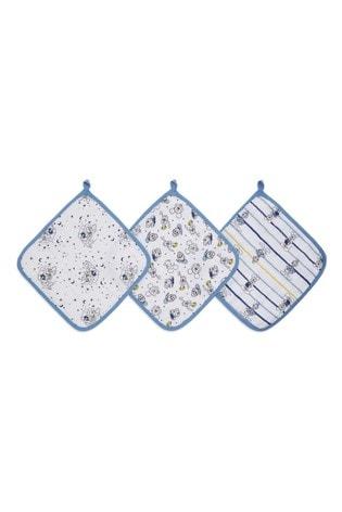 aden + anais Essentials Disney Mickey™ Stargazer Washcloths Set 3 Pack