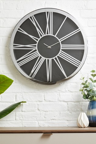 XL Roman Numeral Wall Clock