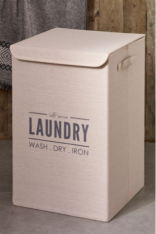 Laundry Sign Hamper