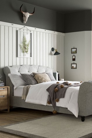 Hartford Sleigh Bed