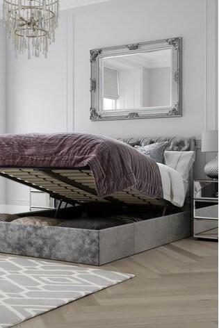 Westcott® Ottoman Storage Bed No Footend