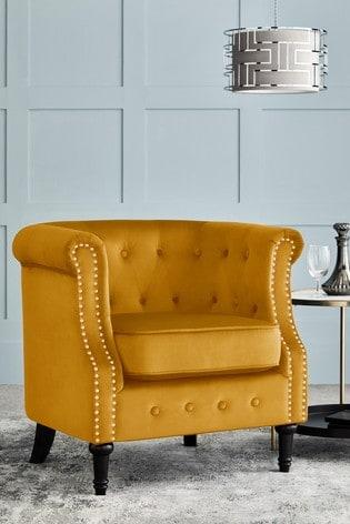Arthur Accent Chair With Black Legs
