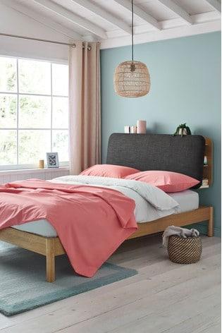Oakley Storage Headboard Bed