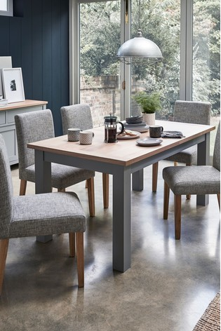 Malvern 6-10 Seater Double Extending Dining Table