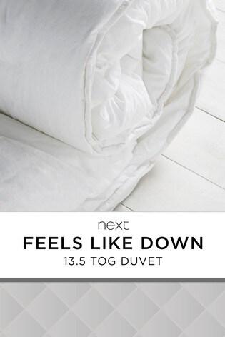 Feels Like Down 13.5 Tog Duvet