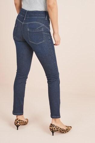 Dark Blue Lift, Slim And Shape Slim Jeans