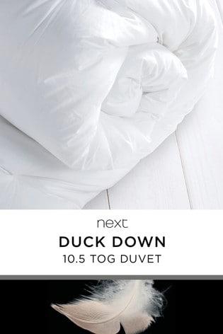 Duck Down 10.5 Tog Duvet