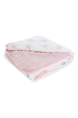 aden + anais Essentials Cotton Muslin Doll Blanket
