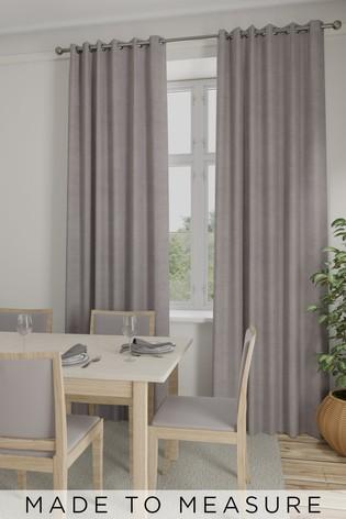Soft Velour Mauve Purple Made To Measure Curtains