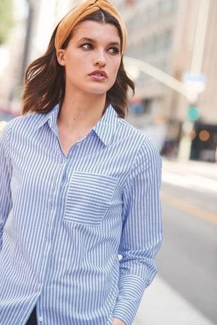 Blue Stripe Classic Shirt