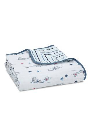 aden + anais Essentials Seashore Muslin Dream Blankets Four Layers