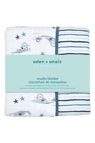 aden + anais Essentials Seashore Muslin Dream Blankets Four Layers