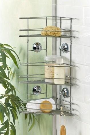 Suction 3 Tier Bathroom Shower Shelves