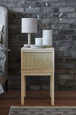 Noah 1 Door Bedside Table