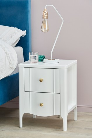 Harper 2 Drawer Bedside