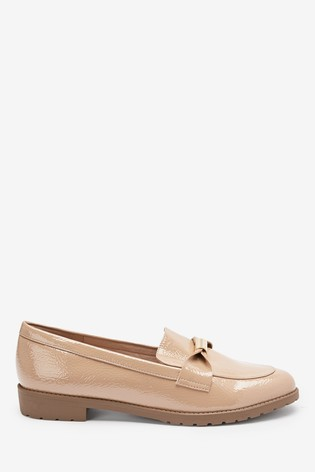 Nude Cleated Hardware Loafers