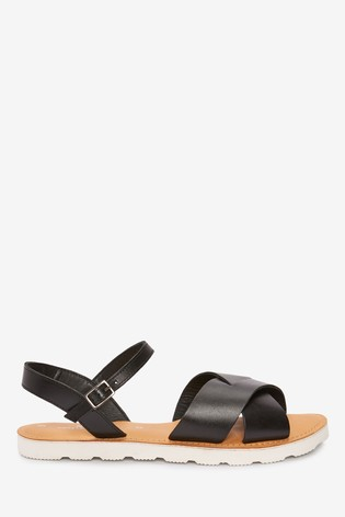 Leather Sporty Sole Sandals from Next