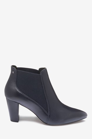 Navy Regular/Wide Fit Forever Comfort® Formal Ankle Boots